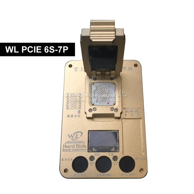 WL PCIE NAND Flash IC Chip for iphone IP SE 6s 6sp 7 7P PRO 8 8P X PRO hard disk test repair instrumentプログラマーアイホンwl 11