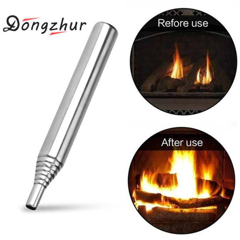 Pocket Bellow Collapsible Fire Blowing Tube Tools Kit Camping Outdoor Survival