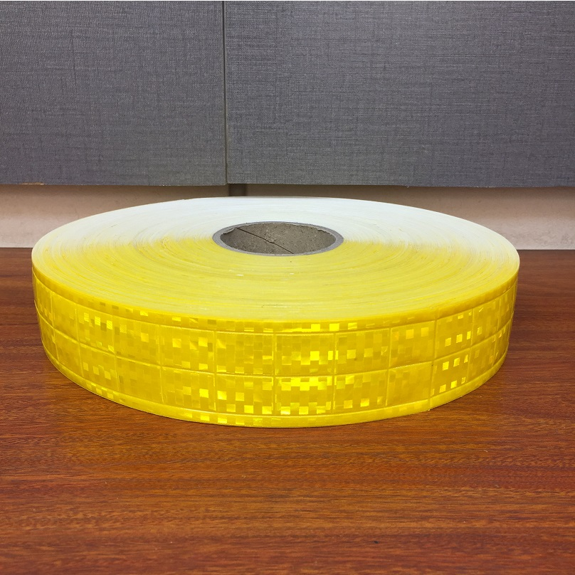 5CM*5M Microprism PVC Reflective Fluorescent Warning Tape Sewn On The Clothing Accessories For Road Traffic Safety Apparel