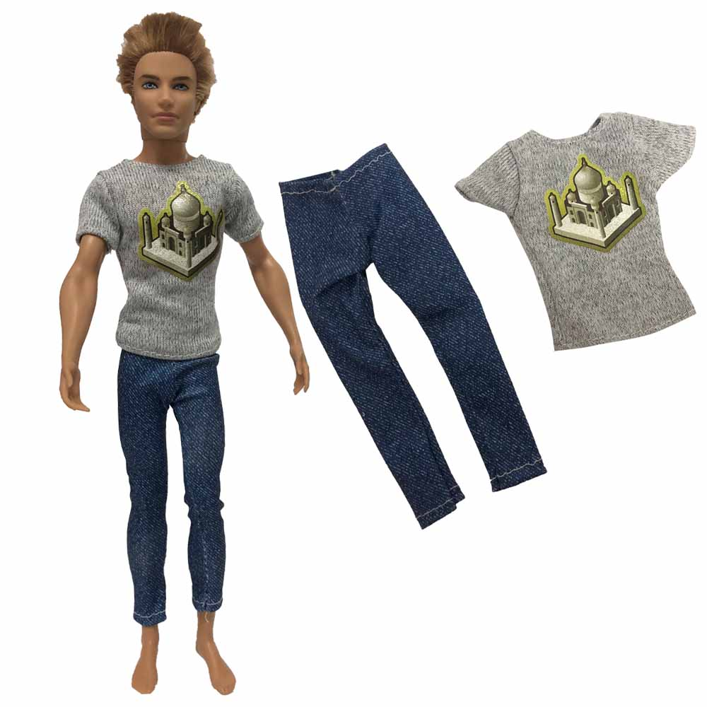 1set cool prince doll clothes outfit for boy doll children/'s birthday gift TB