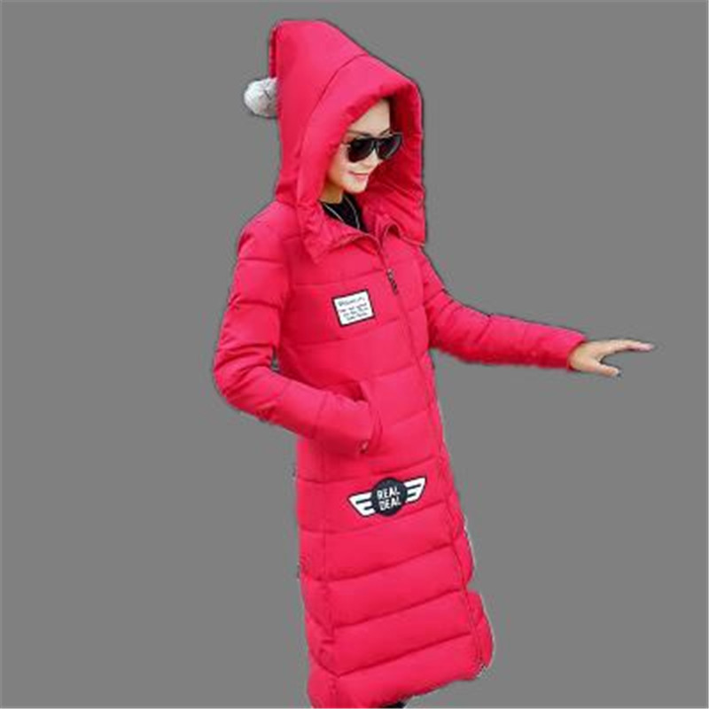 Winter Jacket Coat 2016 New Women Big Yards Hooded Down Cotton Jacket Winter Thicken Padded Jacket
