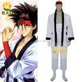 Rurouni Kenshin Саноске Сагара Равномерное Косплей Костюм костюмы