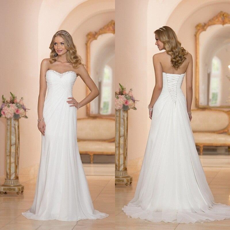 Popular Wedding Dresses under 100 Chiffon-Buy Cheap Wedding ...