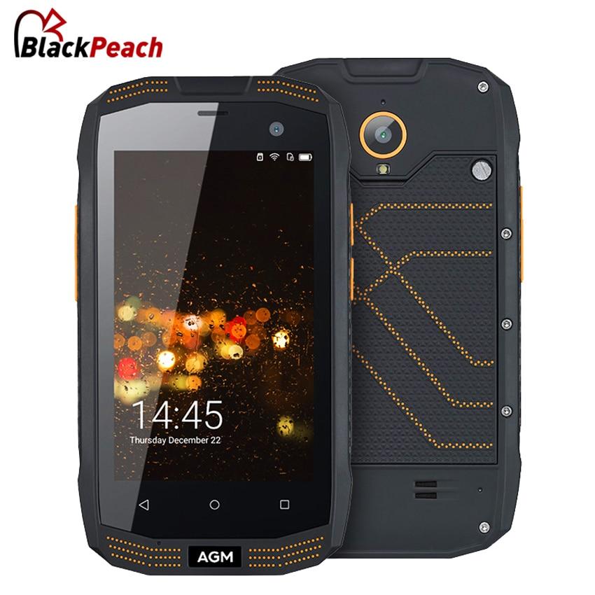 bilder für Agm a2 ip68 wasserdicht telefon 4,0 zoll qualcom snapdragon msm8909 quad Core 2 GB RAM 16 GB ROM 2600 mAh 8MP OTG NFC 4G Smartphone