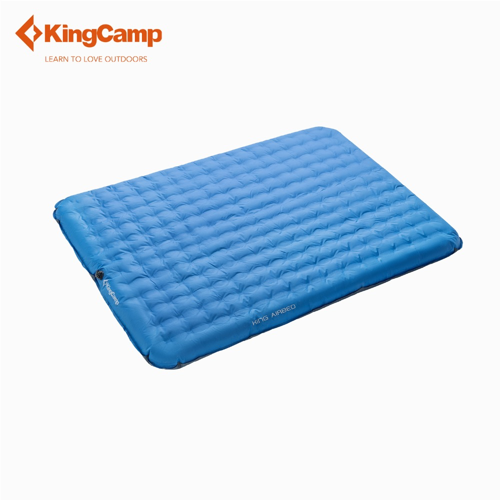 KingCamp Sleeping Pad Outdoor 2-Person Camping Air Mattress/Mat/Pad with  Battery