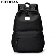 PHEDERA New Fashion Female Backpack Korean Style Nylon Teenager School Backpack Bags Women Shoulder Bags 2016 korean style women backpack leather black shoulder bag big size school back bags for teenager girls lady s laptop backpack