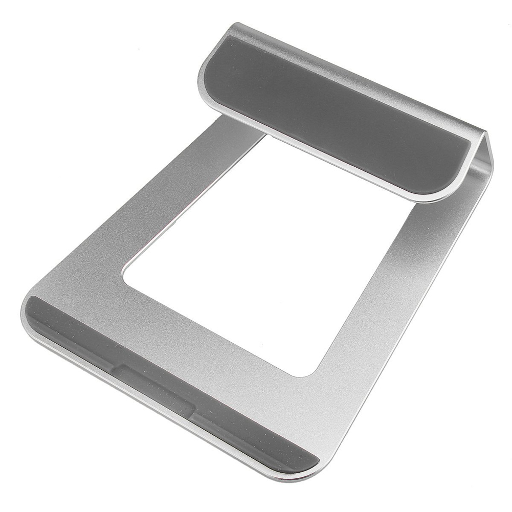 все цены на Metal Tablet Stand 18 Degree Elevation Angle Aluminum Laptop PC Stand Holder Bracket for MacBook Pro Air/Notebook 11