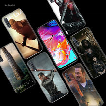Negan Walking Dead Case for Samsung Galaxy A50 A70 A80 A60 A40 A30 A20 A10 M30 M20 M10 A6 A8 Plus A5 A7 A9 2018 Phone Bags Cover(China)