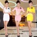Delgado atractivo Hotel suite azafata profesional de belleza ropa de trabajo sauna técnico de servicio técnico de SPA baño de pies do173