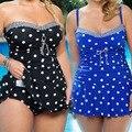 Bikinis traje de baño de punto po versión de grasa traje de baño mujeres de baño bikini traje de baño traje de baño traje de baño sexy young girls bikinis