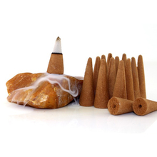 Sandalwood Cone Incense Sticks 105 Sticks Per Bag With Height 4.0cm About 20 Minutes Burning Daily Use Or Buddha Worship Supply