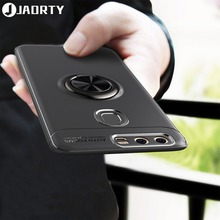For Huawei P9 Case Magnetic Finger Ring Holder Cover Soft Silicone TPU Back