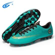 Professional Soccer Cleats Cheap Football Shoes Kids Men krampon futbol orjinal Outdoor Football Boots  Sneakers ayakkabi