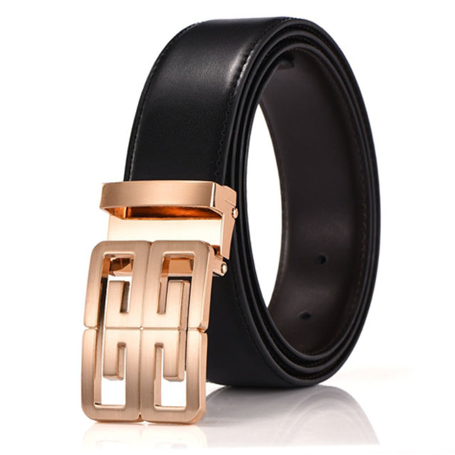 7c3962129f28 New Brand Designer Belts Men High Quality Cowhide Young Fashion Leather  Buckle Men Belt Luxury Bussiness Casual freeshipping