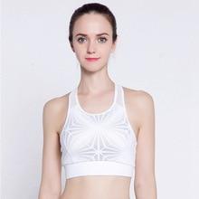 Sports bra Women Fitness Top Breathable Quick Dry Workout Pattern Design sosten deportivo Female Running Underwear