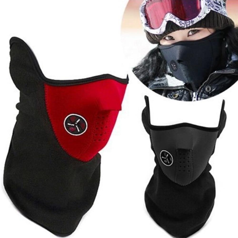 Unisex Windproof Warm Harf Face Mask Winter Snowboard Ski