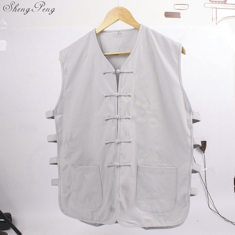 Traditional Sleeveless Gong Fu Shirt 5