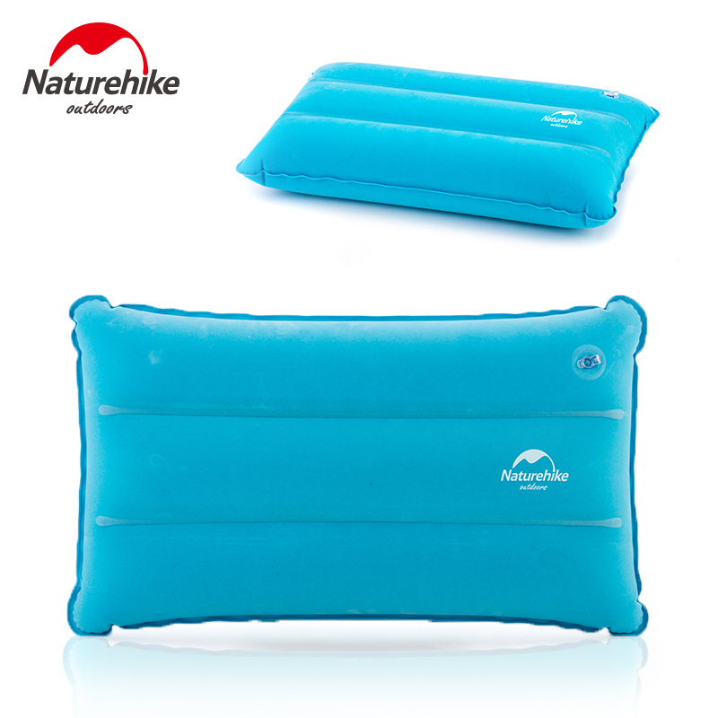 Naturehike Factory Store Inflatable Pillow For Hiking Backpacking Travel Camping Nap Portable Air Pillows Bright And Translucent In Appearance