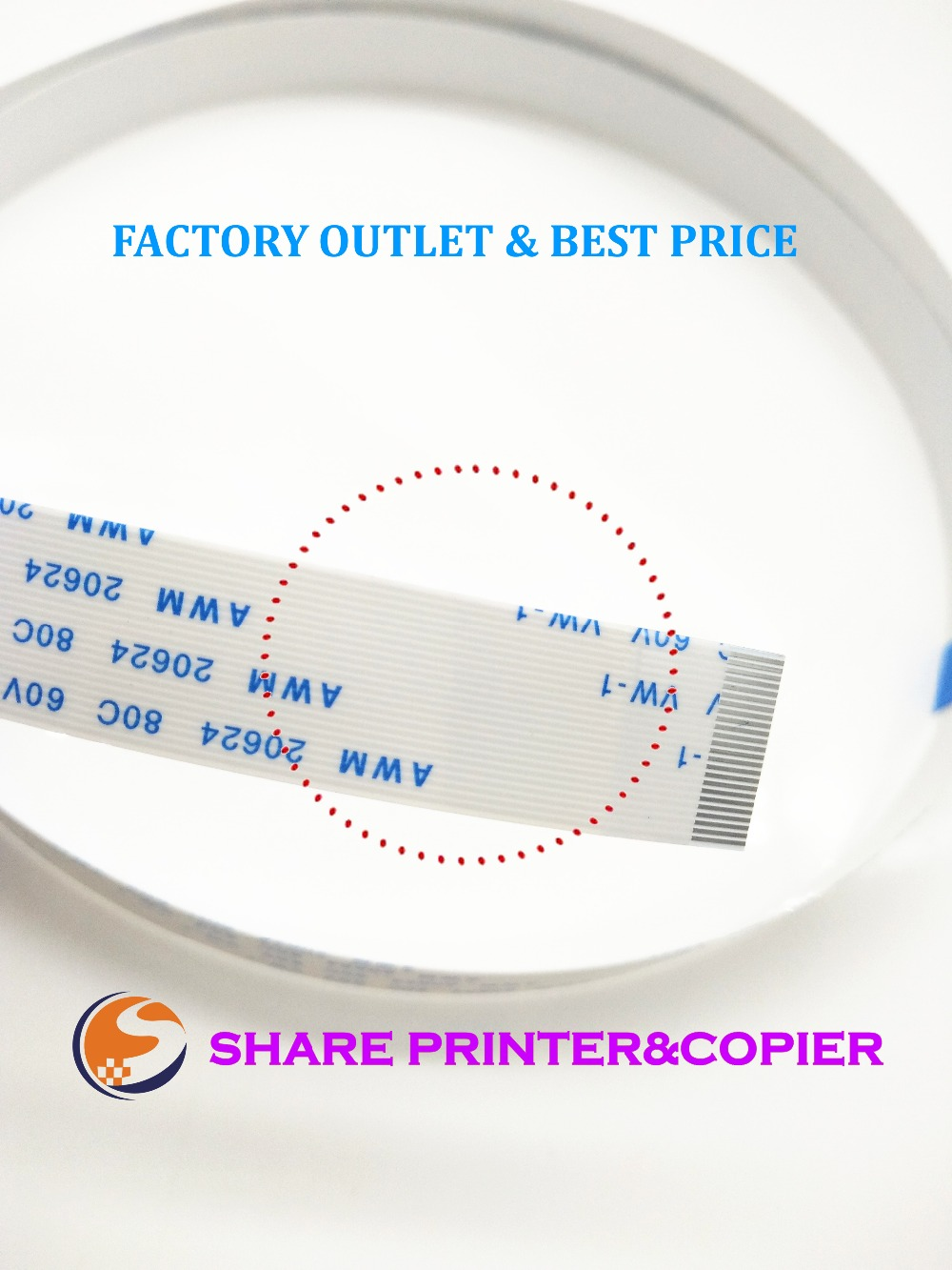 80CM 1SET 932 933 932XL 933XL Print head Cable for HP 6060 6060e 6100 6100e 6600