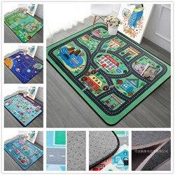 Cartoon Game Carpet Kids Room Soft Carpet Bedroom Rectangle Carpets For Living Room Sofa Coffee Table Rug Child Play Floor Mat