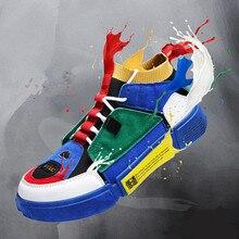 Swyivy Platform Sneakers Vrouw Unisex 44 Size Sok Schoenen 2019 Nieuwe Ademende Casual Schoenen Platform Paar Sneakers Voor Vrouw