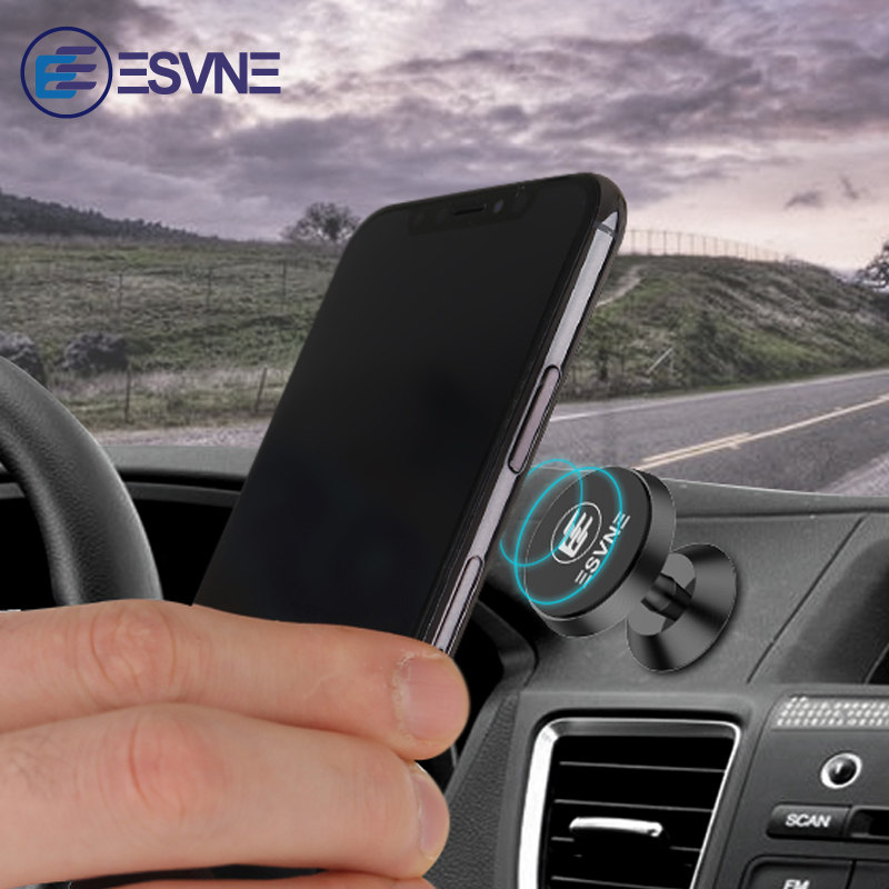 ESVNE Magnetic Phone Holder Desk Mount Car phone holder for Iphone Samsung Mobile Phone Car Holder Magnet Stand Support cellular