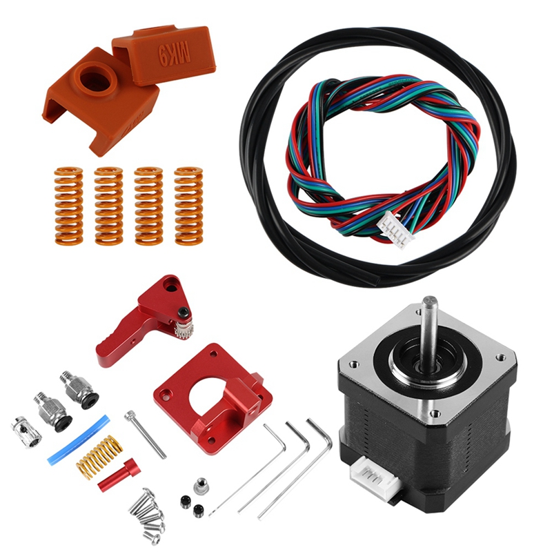 Creality Ender 3 Extruder With Motor Upgrade Kit Sock Capricorn Clone Tube 3d Printer Parts 3d Sensor Hotend Trianglelab Bltouch-in 3D Printer Parts & Accessories from Computer & Office