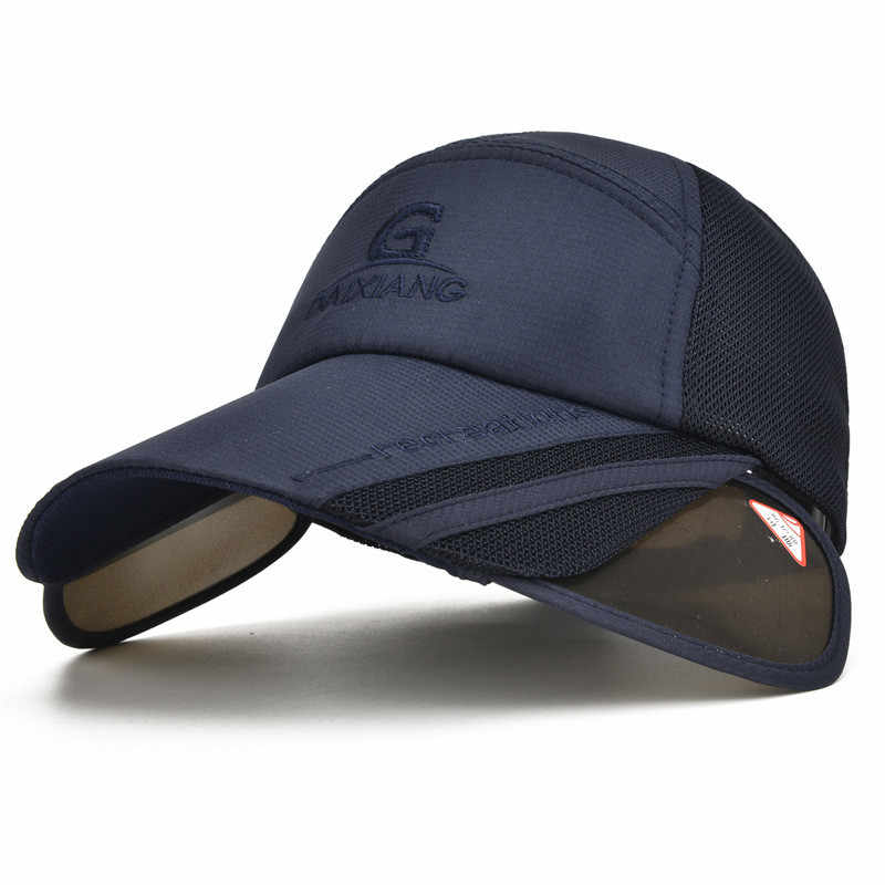 1b05923b 1pcs Sun Hat men Bucket Hats Women Summer Fishin Cap Wide Brim UV  Protection Flap Hat