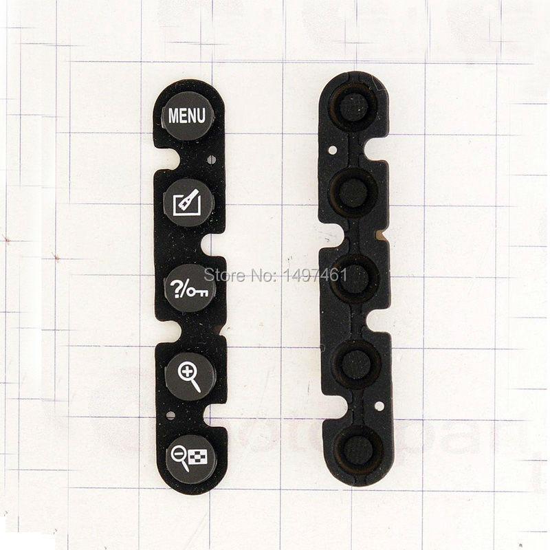 2PCS Rear Back Cover Botton Bar Repair Parts (menu Zoom In