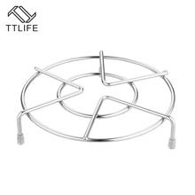 TTLIFE kitchen Stainless Multi-purpose Steaming frame Heat Resistance Rack Insulated Frame Resistant Trivet Mat