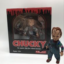 "Kind Spelen Bruid van Chucky Action Figure Toy 5 ""Plastic PVC Horror Pop in Doos(China)"