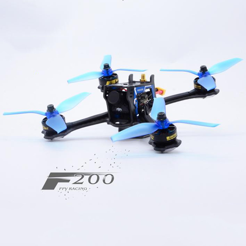 Awesome F200 200mm Standard Version FPV Racing Drone RC Quadcopter Frame Kit Multicopter Mini FPV Camera 2600KV Kit Motor For RC frog lite fission version frame base rack chassis for rc fpv racing drone quadcopter