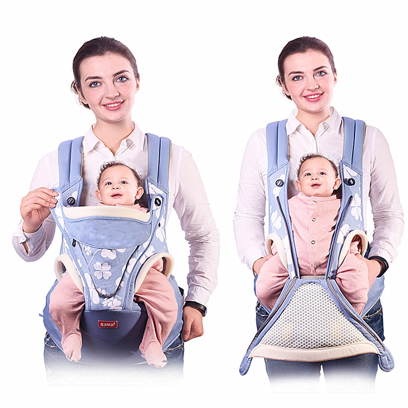 Ergonomic Baby Carrier Backpack Breathable Front Facing Baby Carrier Sling Mochila Infantil Hipseat Carrier Kangaroo Baby Bag brand ergonomic baby carrier breathable front facing infant baby sling backpack pouch wrap baby kangaroo for baby newborn sling