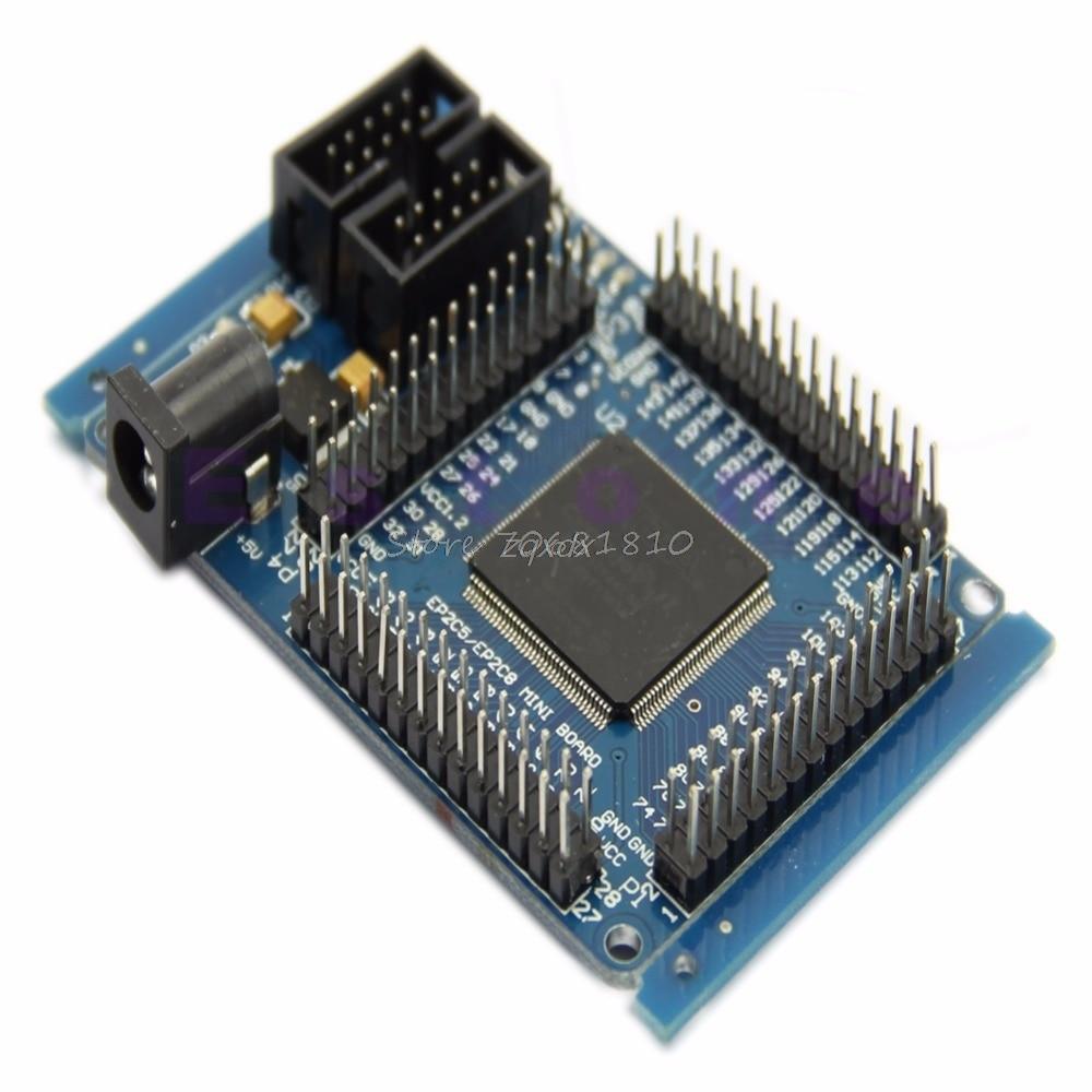 New Mini System Development Board ALTERA FPGA CycloneII EP2C5T144 Learning Board Z09 Drop Ship