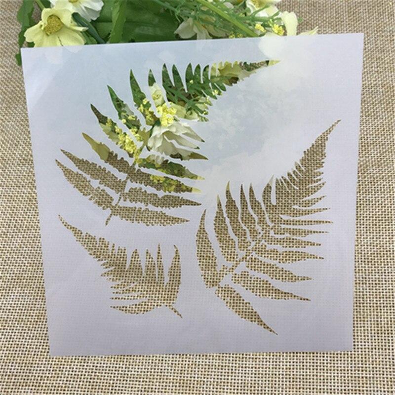 1 Blatt Ahornblätter Schichtung Schablonen Für Diy Scrapbooking/fotoalbum Dekorative Prägen Diy Papier Karten Handwerk Farben Sind AuffäLlig