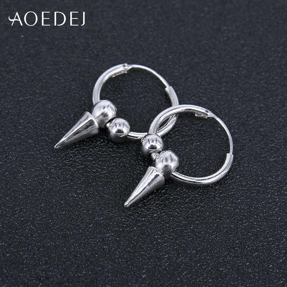 bbefbd9dc AOEDEJ Spike Earring Punk Small Hoop Earrings For Men Hoop Punk Earrings  Circle Earrings Jewellery Orecchini Cerchio Piccoli
