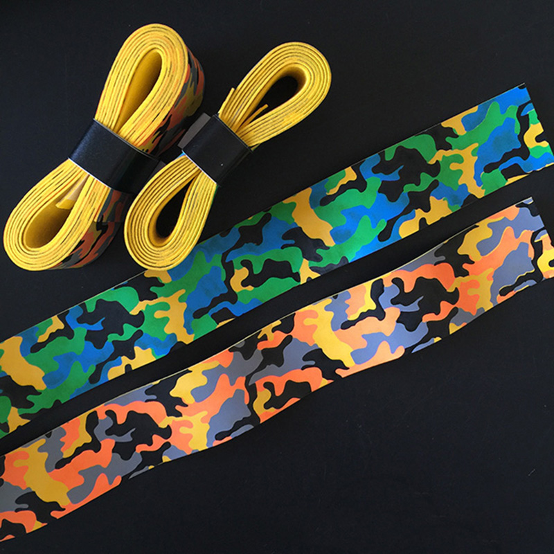 12pcs/lot PU Badminton Grip Camouflage Badminton Overgrip Scented Tennis Racket Grip Mix Color