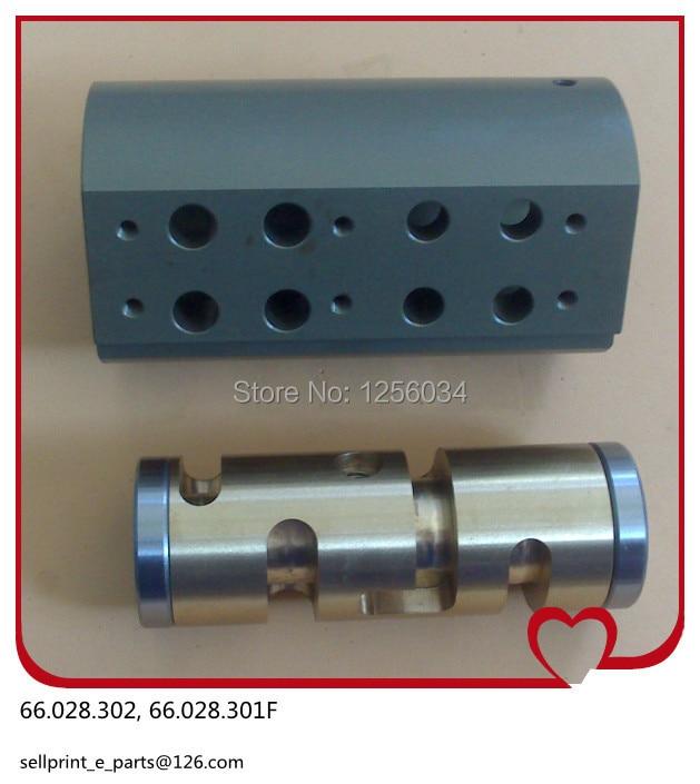 1 set valve for Heidelberg SM102 CD102 MO machine spare parts 66.028.302, 66.028.301F