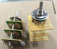 2PCS/LOT FUJISOKU, Fujitsu rotary switch, band switch, 3 layers, double knife, 5 gears