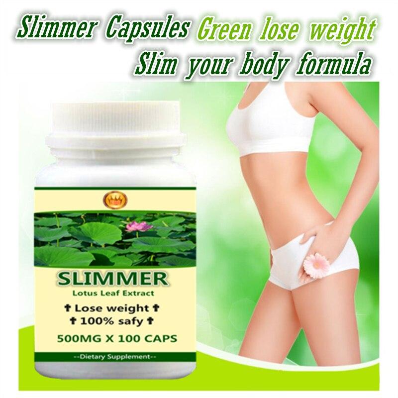 5 bottles super slimmer,Lotus Leaf PE. Green Weight Lose Formula, 100% Safe - 100pieces/bottle - Free Shipping 2 bottles x 90 pieces bottle black maca powder extracts 100