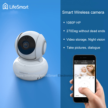 2017 lifesmart Беспроводной CCTV 1080 P HD c Amera Умный дом Wi-Fi 270 градусов вращения/домофон Дистанционное управление смарт телефон