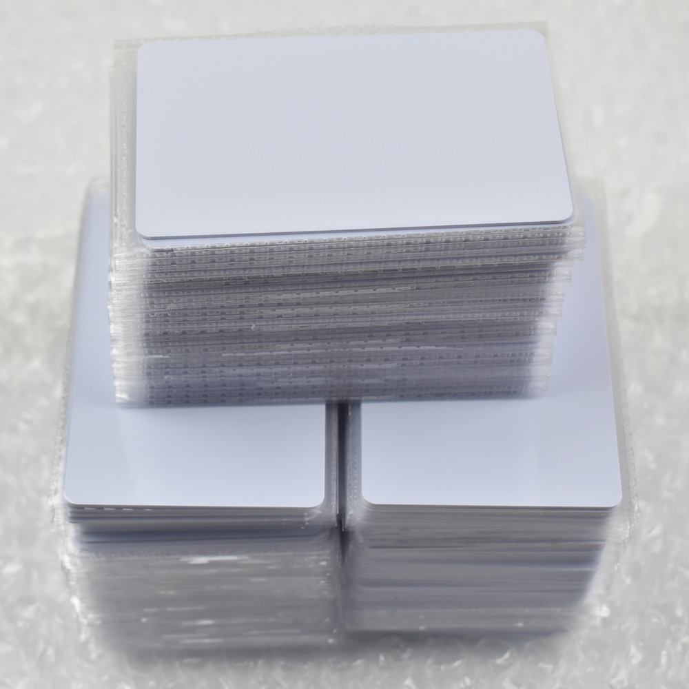 1000pcs/lot nfc 1k S50 Blank card Thin pvc Card RFID 13.56MHz ISO14443A IC Smart Card Fudan Chips Waterproof