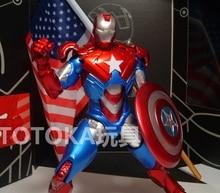 Animation Garage Kid American Superhero Model Toys
