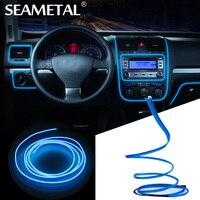 3 5 M 12 V Car LED Droplet Lights Flexible Neon EL Wire With Cigarette Lighter