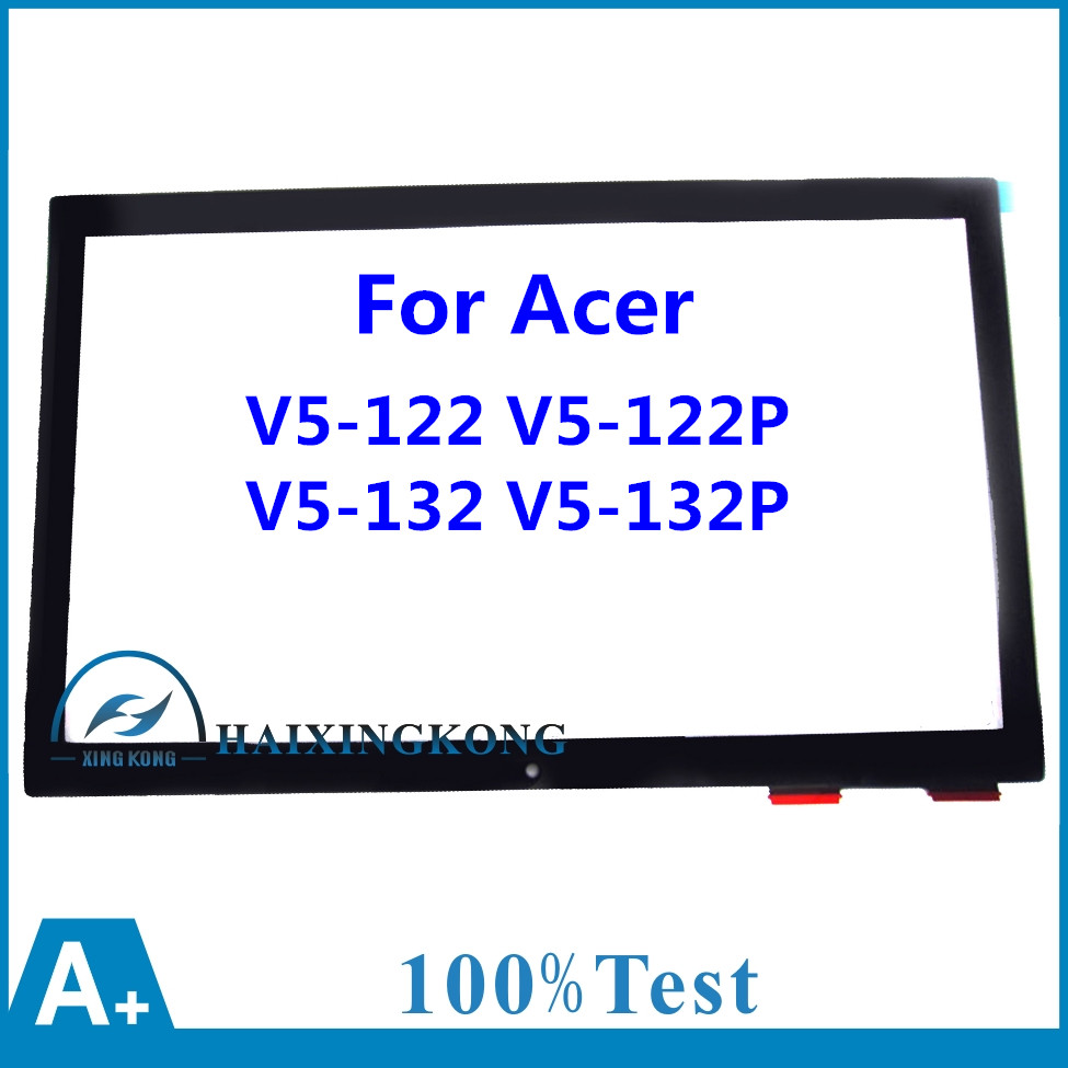 11.6Replacement Touch Screen Front Glass Digitizer for Acer Aspire V5-122 V5-122P-0681 V5-122P-0816 V5-132 V5-132P MS2377 REV:2 11 6 lcd assembly for acer aspire v5 122p v5 132p ms2377 lcd display touch screen digitizer with frame display panel
