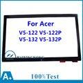 "11.6 ""reemplazo de la pantalla táctil frontal de cristal digitalizador para acer aspire v5-122 v5-122p-0681 v5-122p-0816 v5-132 v5-132p ms2377 rev: 2"