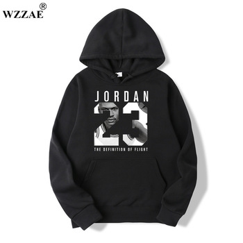 WZZAE 2019 Brand  New Fashion JORDA 23 Men Sportswear Print Men Hoodies Pullover Hip Hop Mens tracksuit Sweatshirts Clothing