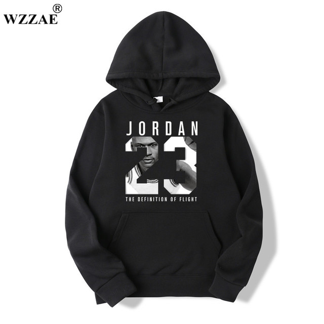 4681e9bbbe7efe WZZAE 2019 Brand New Fashion JORDAN 23 Men Sportswear Print Men Hoodies  Pullover Hip Hop Mens tracksuit Sweatshirts Clothing