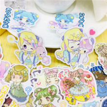 40 pcs Anime cute knight Stickers for Car Styling Bike Motorcycle Phone Laptop Travel Luggage Cool Funny Sticker Bomb Decals