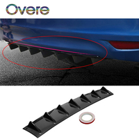Overe 1PC Car Rear Bumper Modified Spoiler Shark Fin Styling For BMW E60 E36 E46 E90 E39 E30 F30 F10 F20 X5 E53 E70 E87 E34